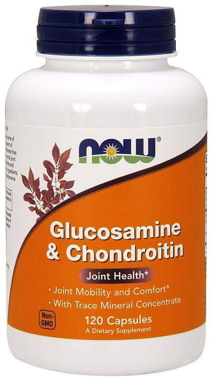 Now Foods Glucosamine and Chondroitin - 120 Capsules