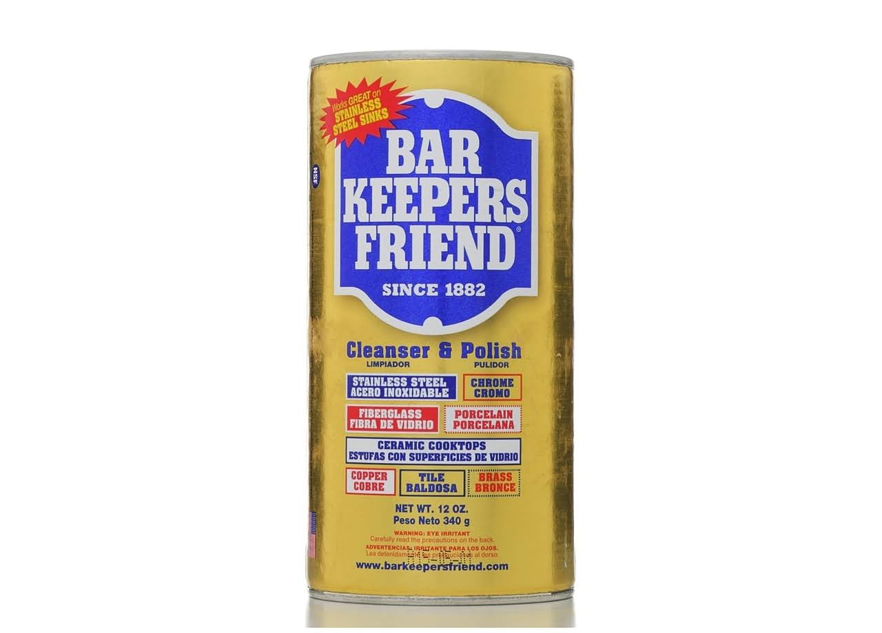 Bar Keepers Friend Cleanser & Polish - 340g