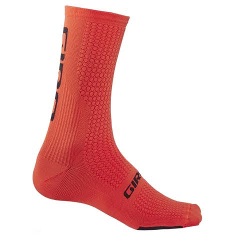 Giro HRC Team Cycling Socks Vermillion/ Black