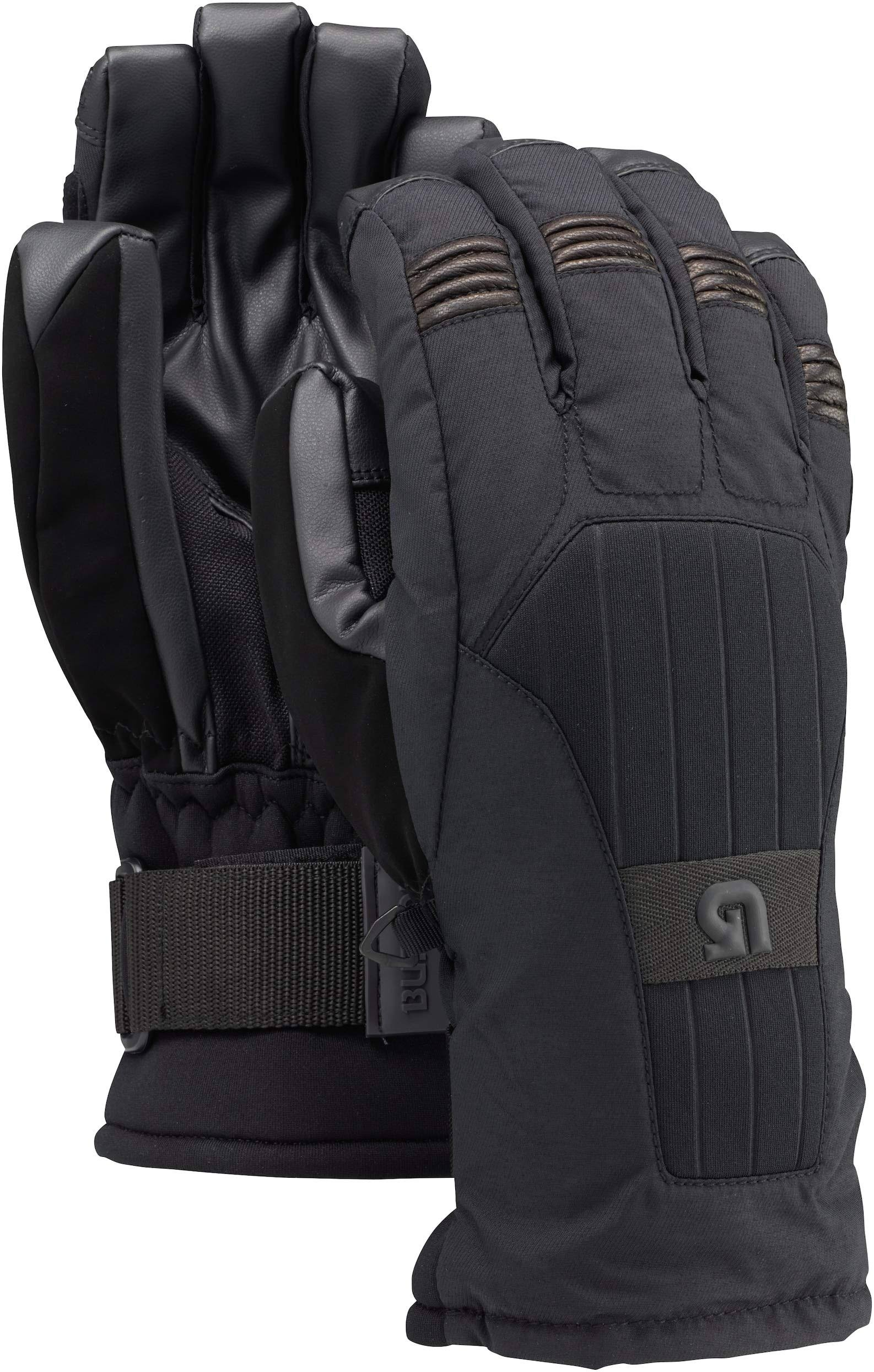 Burton Men's Support Gloves - True Black, X-Large