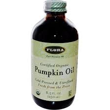 Styrian Pumpkin Seed Oil Prostate by Amazon Com Flora Pumpkin Oil Certified Organic 8 5 Ounce Glass