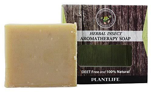 Plantlife Herbal Insect Aromatherapy Soap - 113g