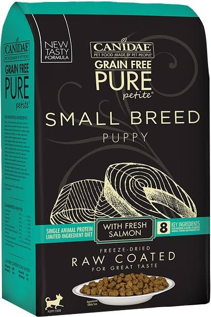 Canidae Pure Petite Small Breed Salmon Puppy Dry Dog Food, 4 lb