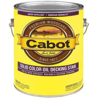 Cabot Oil Decking Stain