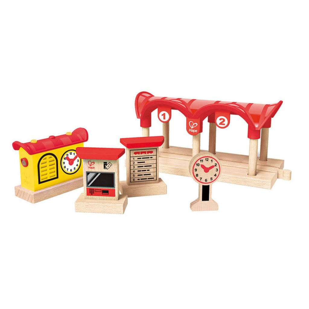 Hape Record Listen & Light Railway Station E3702 Playset