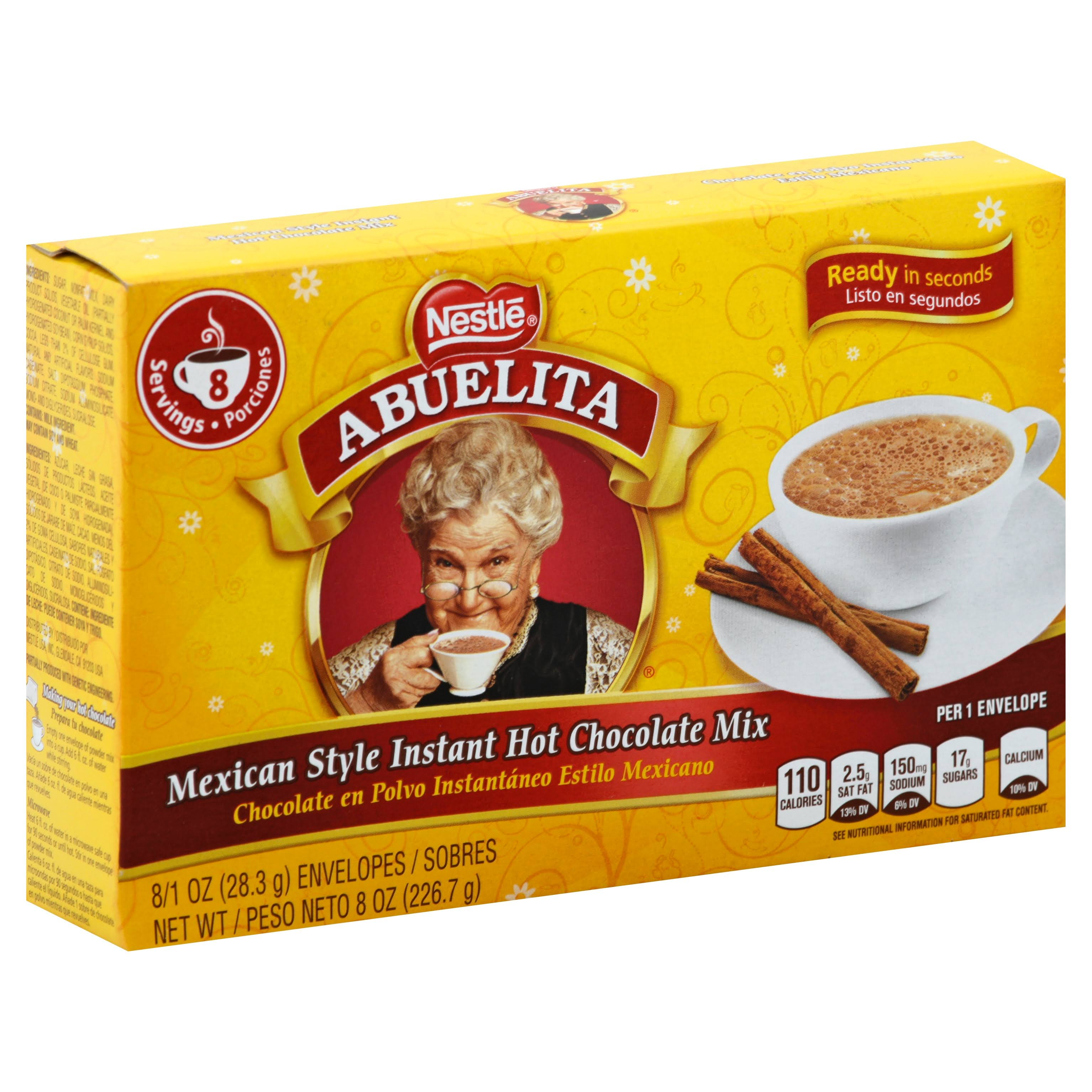 Nestlé Abuelita Mexican Style Instant Hot Chocolate Mix - 1oz, 8pk