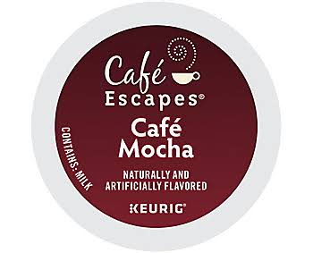 Cafe Escapes Cafe Mocha K-Cups - 24 Pack