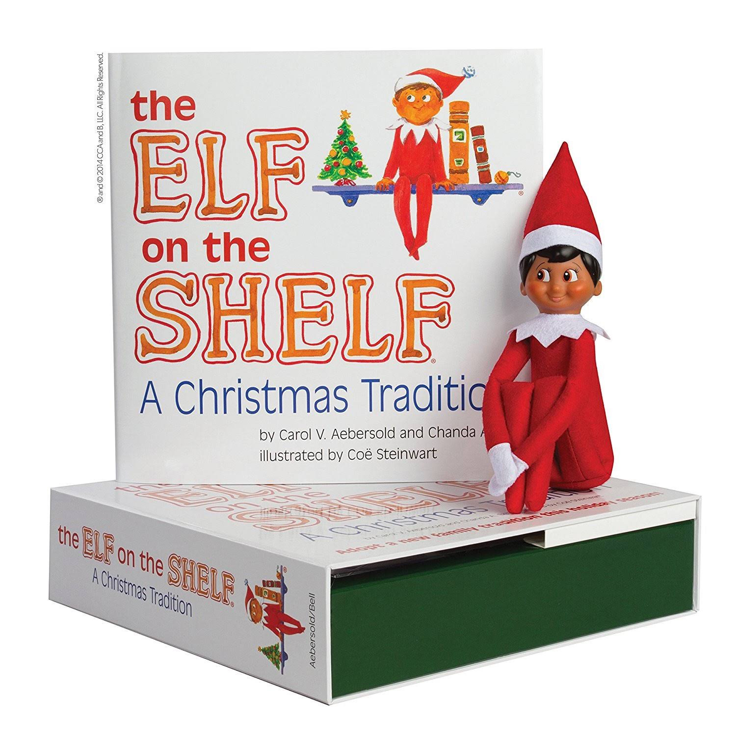 Elf on The Shelf a Christmas Tradition Book