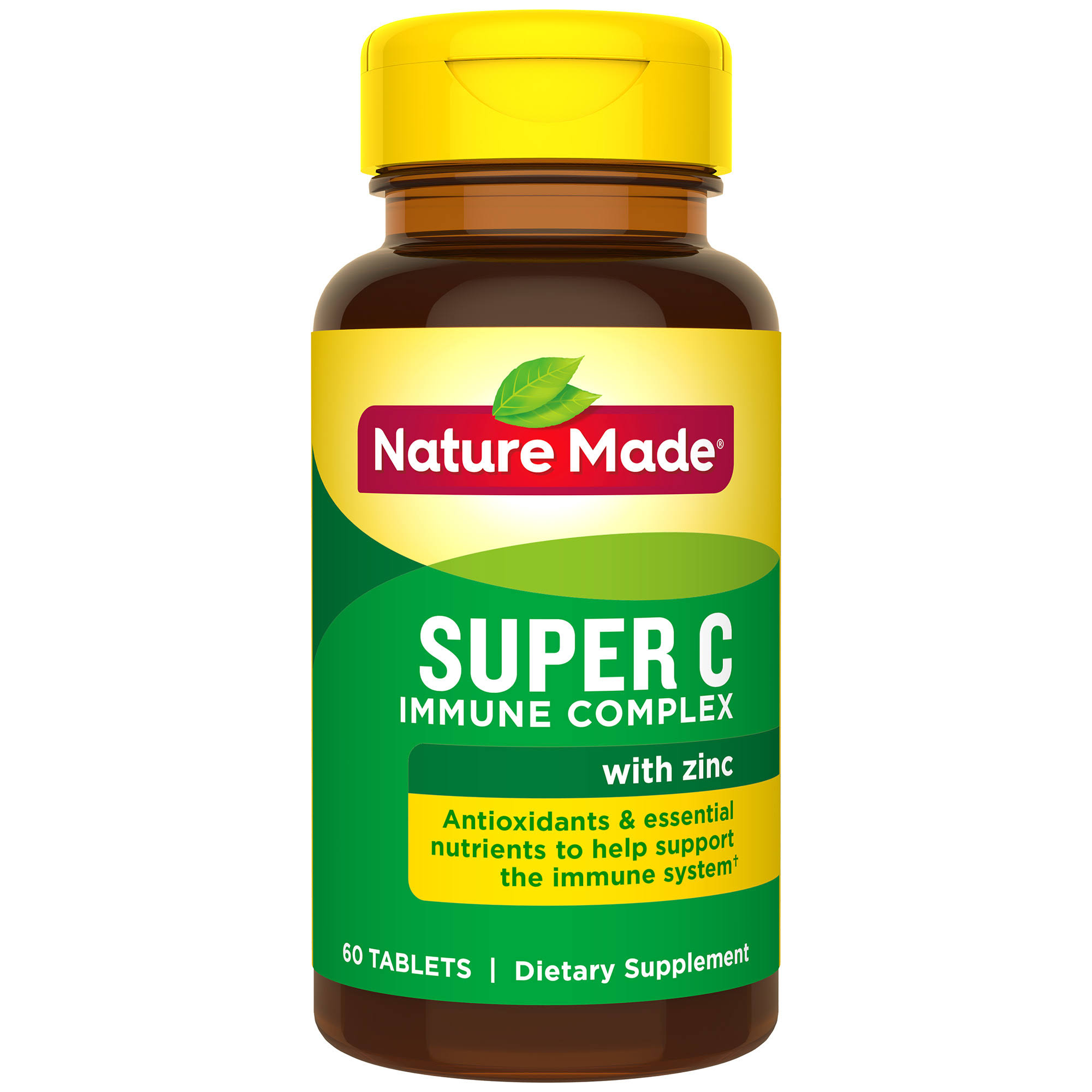 Nature Made Super C Immune Complex Supplement - 60 Tablets