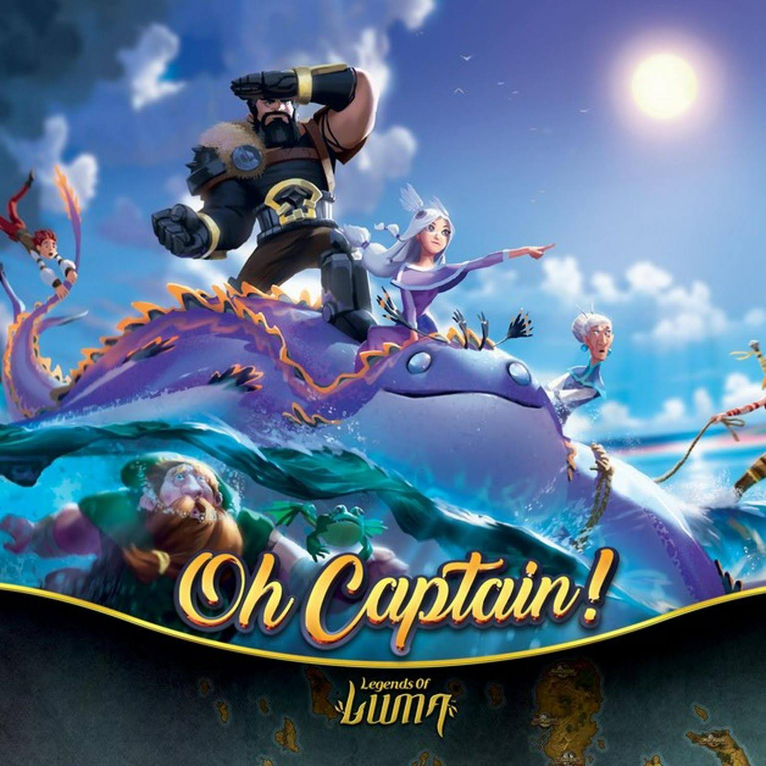 Oh Captain! Strategy Board Game