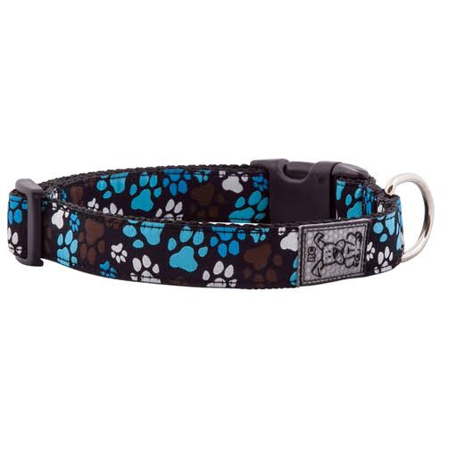 "RC Pet Products Adjustable Dog Clip Collar - Pitter Patter Chocolate, 3/4"" x 9-13"""