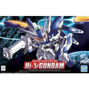 Bandai Hobby Legend BB #384 BB384 Hi-Nu Gundam SD Model Kit
