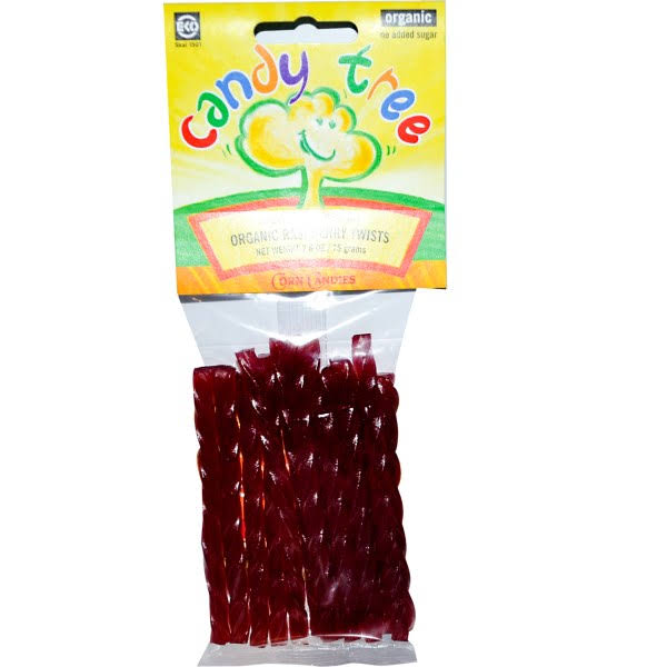 Candy Tree Gluten Free Raspberry Twists - 2.6 oz