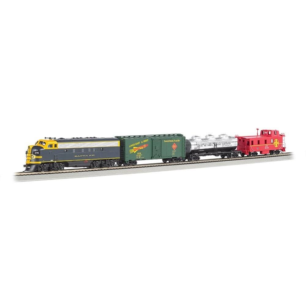 Bachmann Trains Thunder Chief Ready-to-Run Electric Train Toy Set - with Sound Value Equipped Locomotive, HO Scale