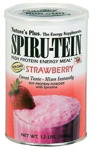 Nature's Plus Spiru-tein Powder - Strawberry