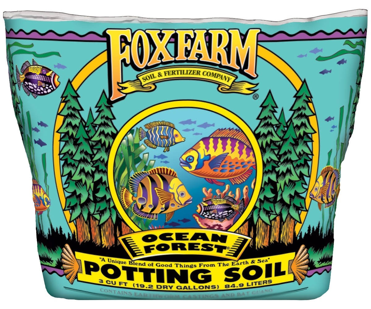 Foxfarm Ocean Forest Potting Soil - 3cu ft