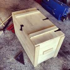 wooden storage box 6 steps with pictures