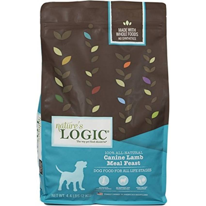 Nature's Logic Canine Lamb Meal Feast Dry Dog Food - 4.4 lbs.