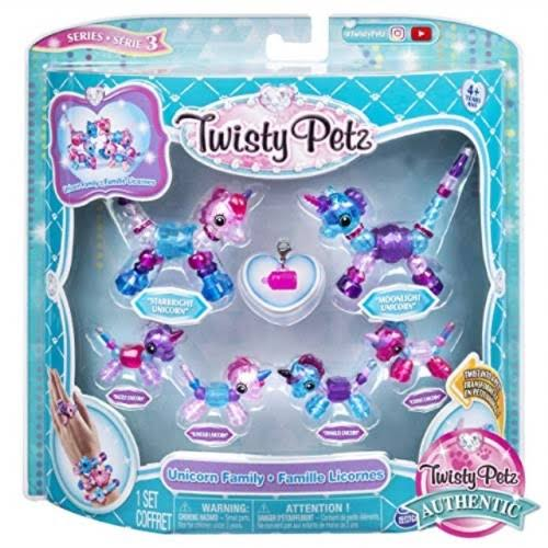 Twisty Petz Series 3 Unicorn Family Set - 7pc