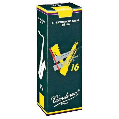 Vandoren V16 Tenor Sax Reeds - Strength 3.5, Box of 5