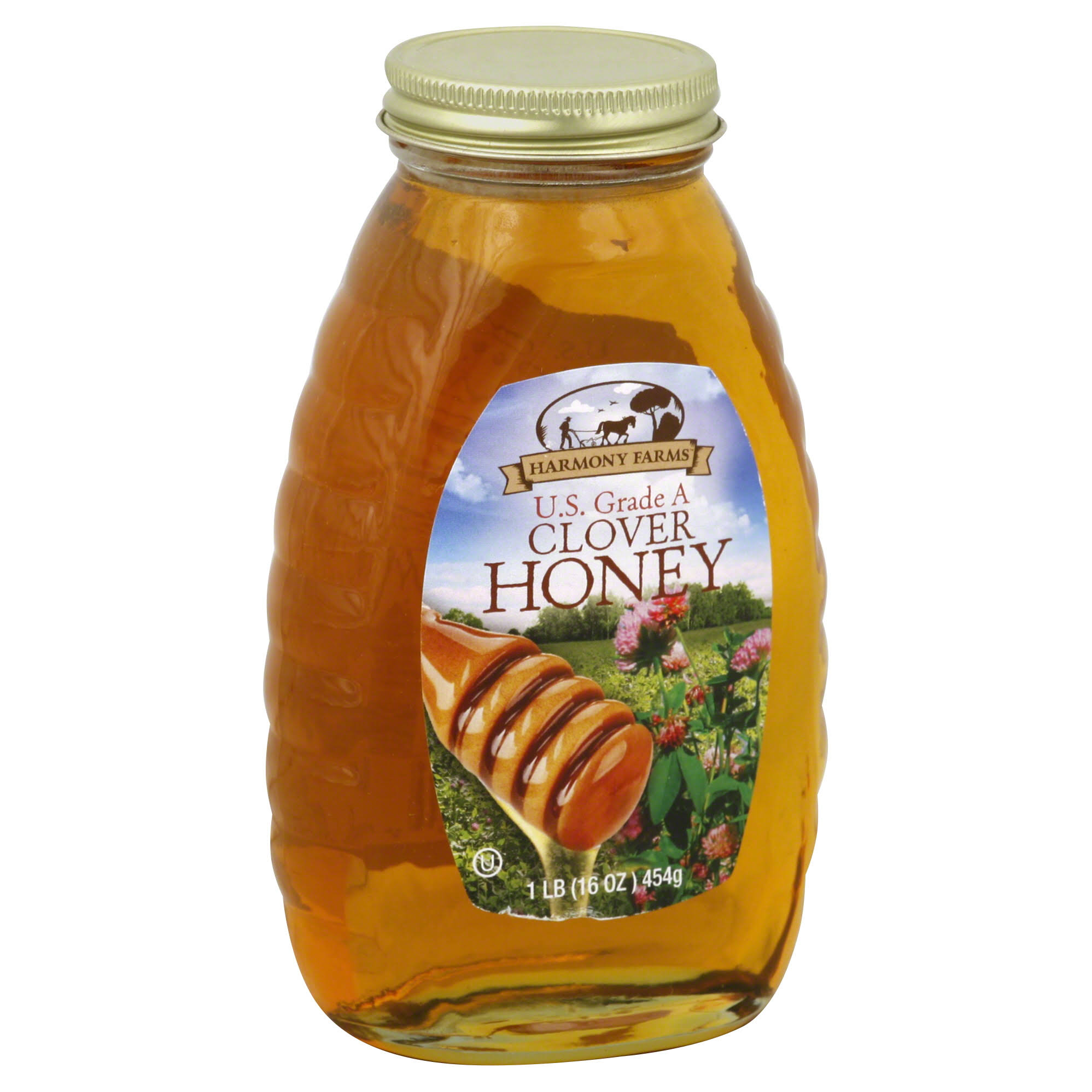 Harmony Farms Honey Clover Syrup - 16oz