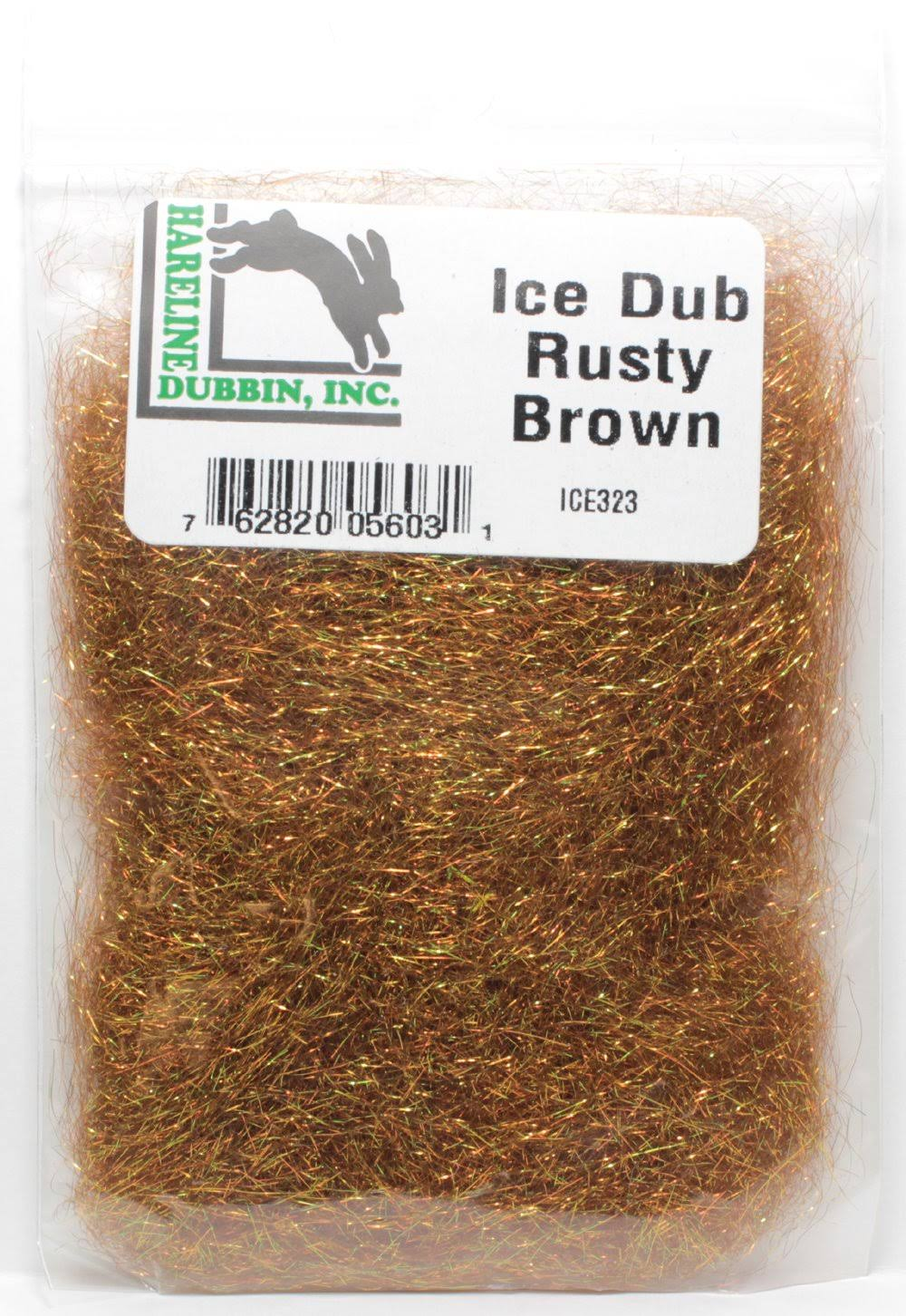 Hareline ICE323 Ice Dub - Rusty Brown