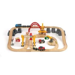 Brio 33097 Cargo Railway Deluxe Train Set