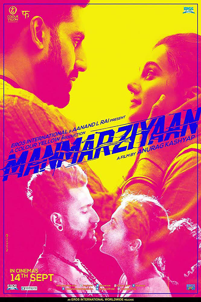 Download Manmarziyaan (2018) Hindi DVDScr – 700MB Direct link