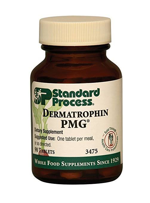 Standard Process Dermatrophin PMG Supplement - 90ct