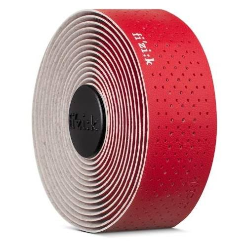 Fizik Tempo Microtex Classic Handlebar Tape - Red, 2.0mm