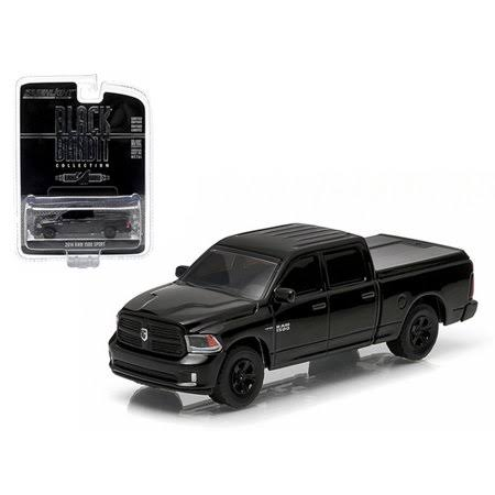 2014 Dodge Ram 1500 Sport Pickup Truck Black Bandit 164 Diecast Model