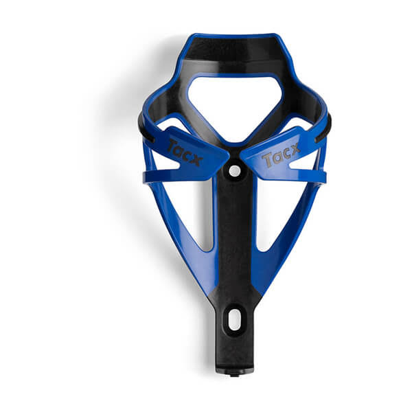Tacx Deva Bottle Cage - Black & Blue