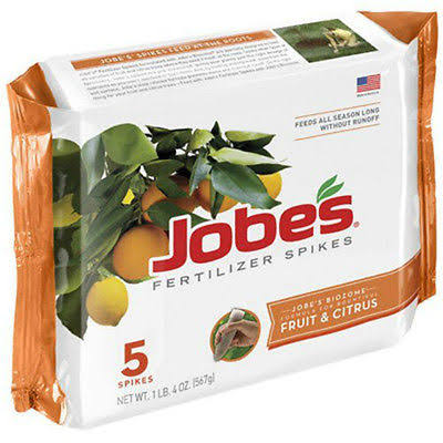 Jobes Fruit & Citrus Tree Fertilizer Spike - 5 pack