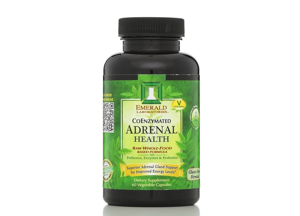 Emerald Labs Coenzymated Adrenal Health Supplement - 60ct