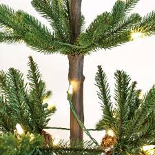 Artificial Christmas Tree 6ft by 6ft Pre Lit Green Real Imperial Spruce Artificial Christmas Tree
