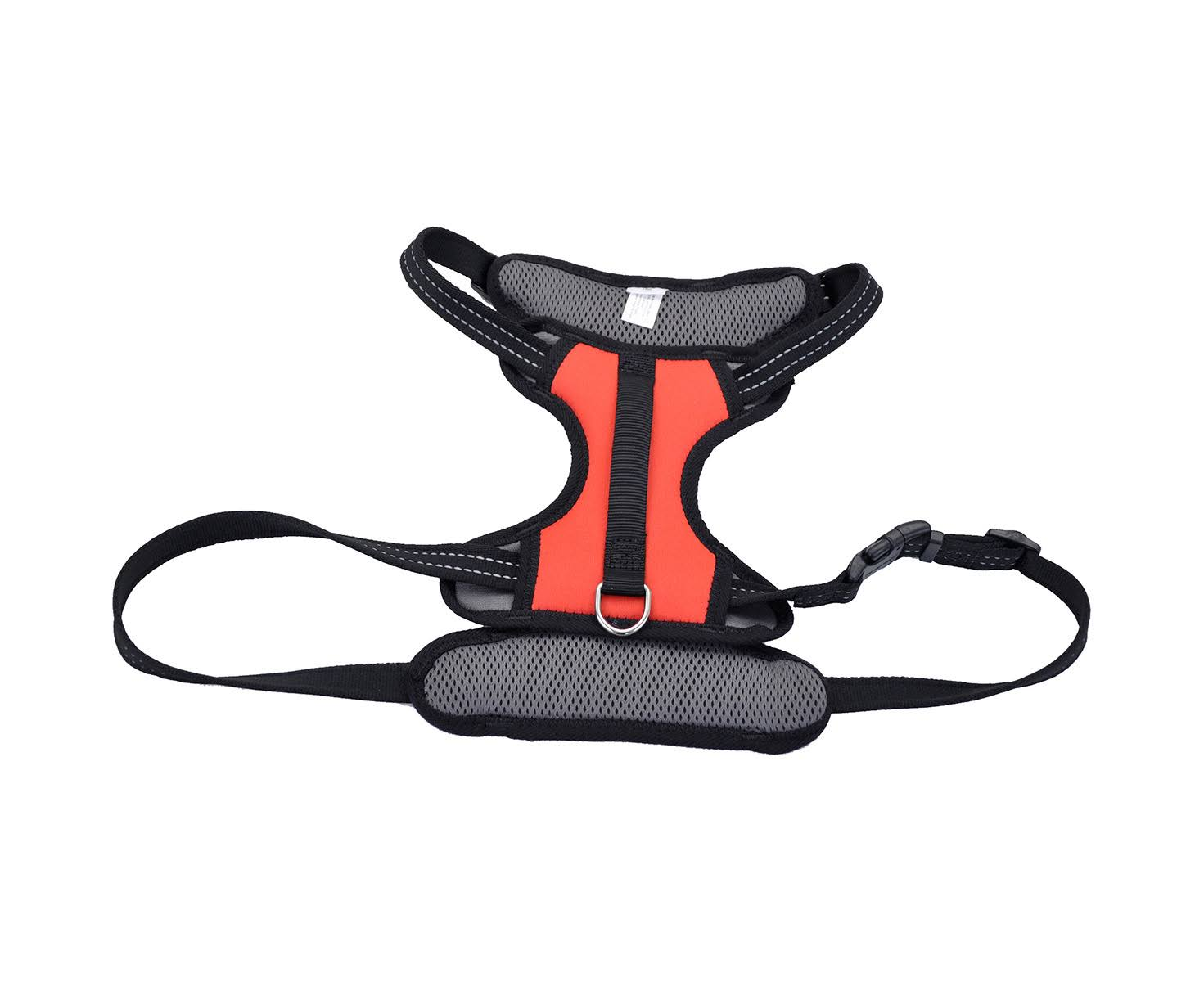 Coastal Reflective Control Handle Harness - Red, Large