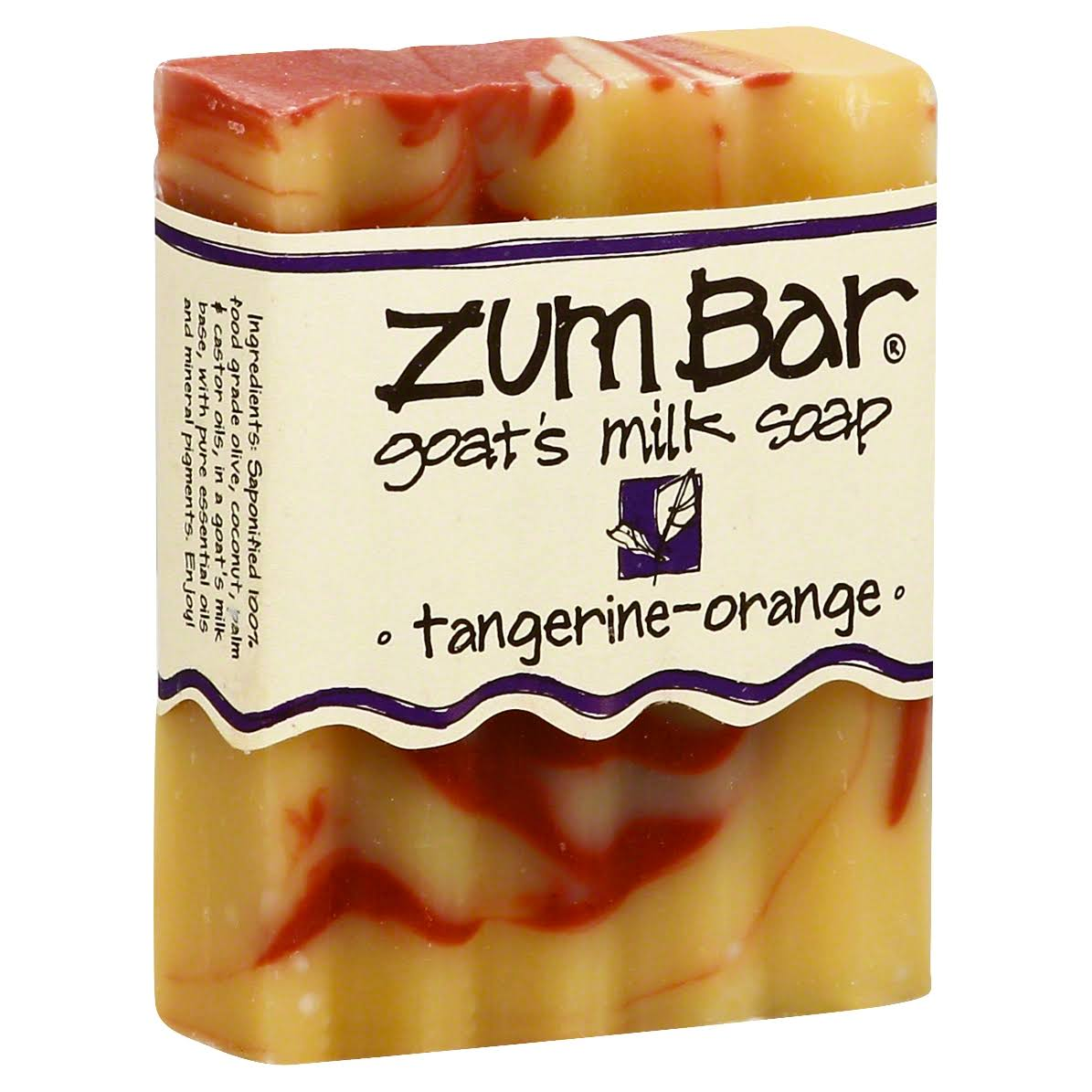 Zum Bar Goat's Milk Soap - Tangerine-Orange, 85g