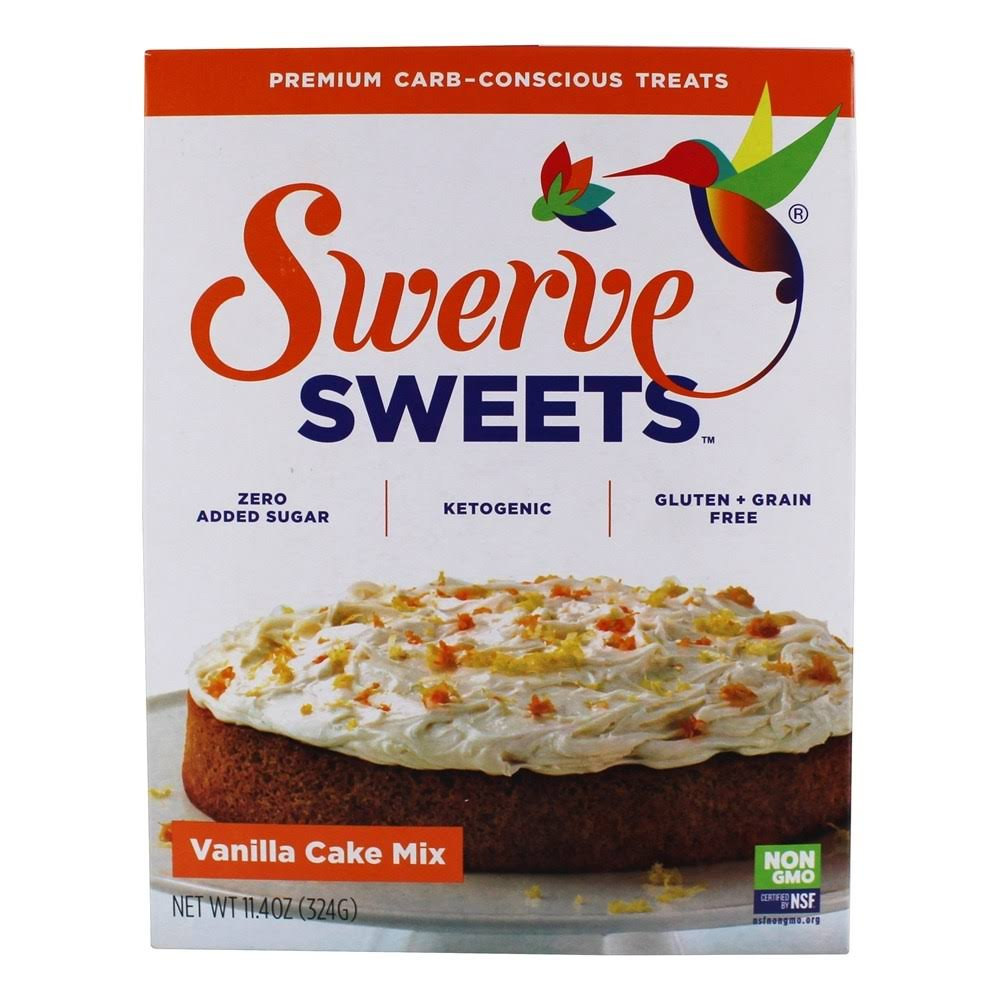Swerve Sweets Vanilla Cake Mix - 11.4oz