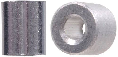 The Hillman Group 852037 1/8-Inch Cable Ferrule and Stop Set, Aluminum