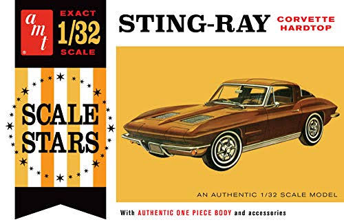 AMT 1963 Corvette Stingray Hardtop 1/32 1112 Plastic Model Kit