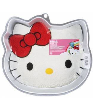 "Wilton Novelty Hello Kitty Shaped Cake Pan - 11"" x 10"""