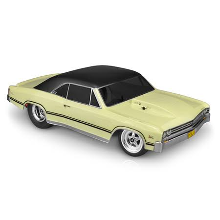 JConcepts Clear Body 1967 Chevy Chevelle SCT JCO0358