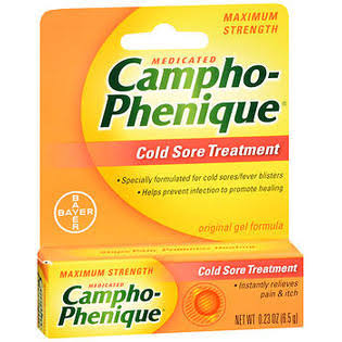 Campho Phenique Cold Sore Treatment - 0.23oz