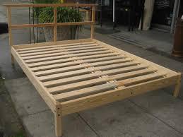bed frames diy king platform bed bed frames with storage plans