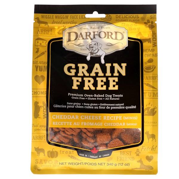 Darford Grain Free Oven-Baked Dog Treats - Cheddar Cheese
