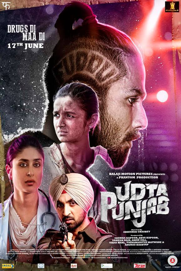 Udta Punjab Hindi Movie Free Download 2016 720p BluRay