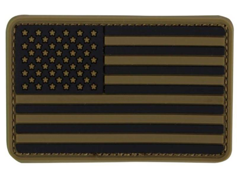 Condor PVC US Flag Patch - Coyote Brown
