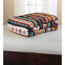 Southwest Decoratives Quilt Shop by Amazon Com Southwest Turquoise Tan Red Native American Queen