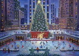 Christmas Tree Amazon Prime by Amazon Com Nyc Christmas Puzzle 1000 Piece Toys U0026 Games