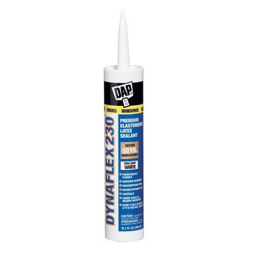 Dap Dynaflex 230 Premium Indoor/Outdoor Sealant - White